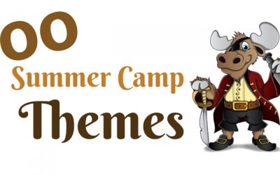 100 Summer Camp Themes