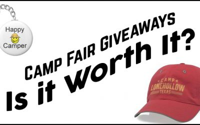 Camp Fair Giveaways – Is it Worth It?