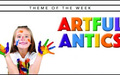 Theme of the Week – Artful Antics