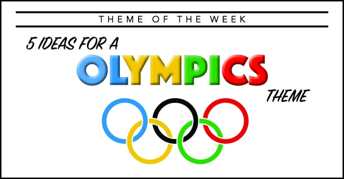 Theme Of The Week Olympics Summer Camp Programming