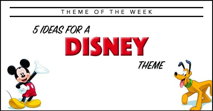 Theme Of The Week Disney Summer Camp Programming