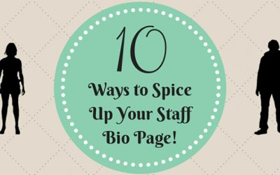 10 Ways to Spice Up Your Staff Bio Page