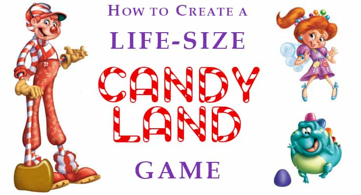 image regarding Printable Candyland Cards known as How towards Make a Daily life-Measurement Sweet Land Recreation - Summer months Camp