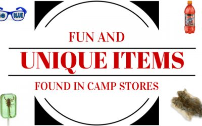 Fun and Unique Items Found in Camp Stores