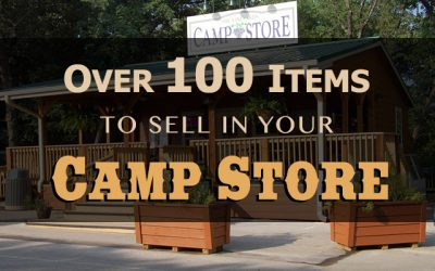 Over 100 Items to Sell In Your Camp Store