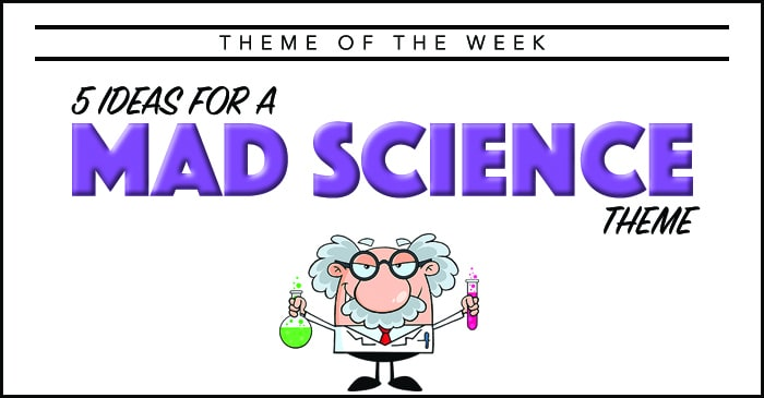 Theme Of The Week Mad Science Summer Camp Programming