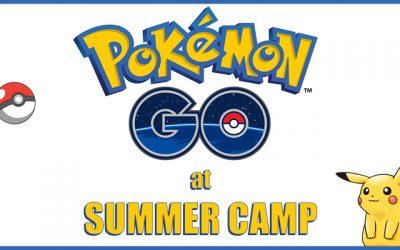Pokémon Go at Summer Camp