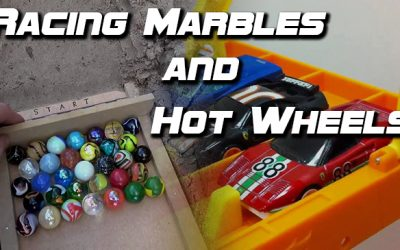 Racing Marbles and Hot Wheels