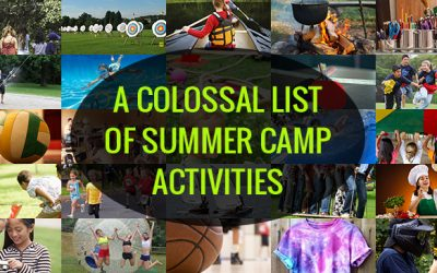 A Colossal List of Summer Camp Activities