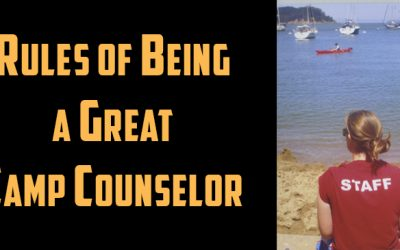 Rules of Being a Great Camp Counselor